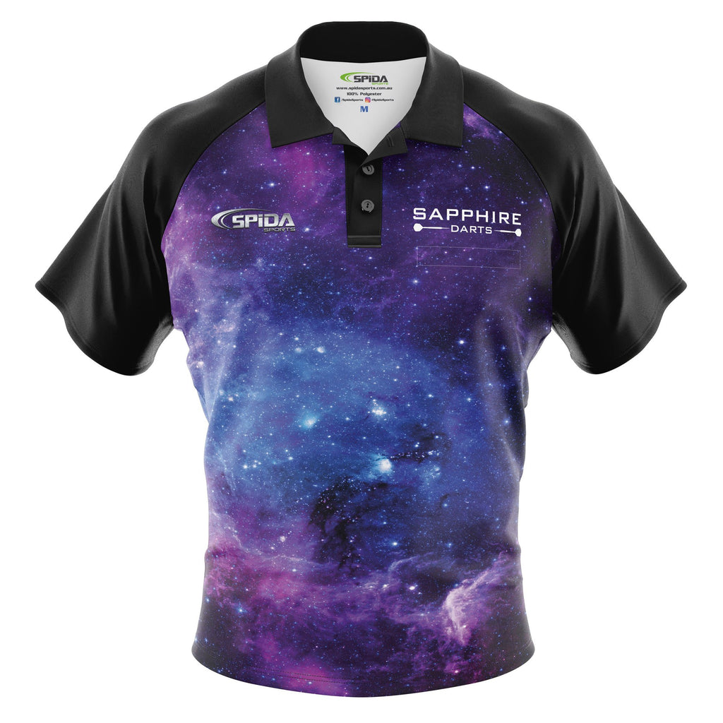 Galaxy Boom Darts Shirt by Spidasports x Sapphiredarts
