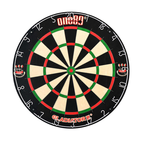 Gladiator 3 Plus Sisal Dartboard Dartboard Official BDO partner