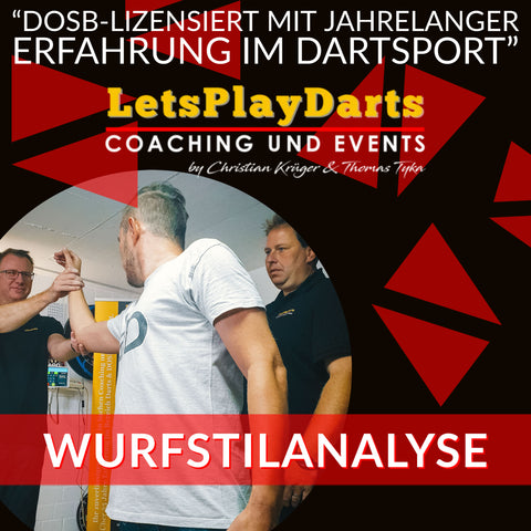 LetsPlayDarts dart coaching throwing style analysis dart training slow motion video