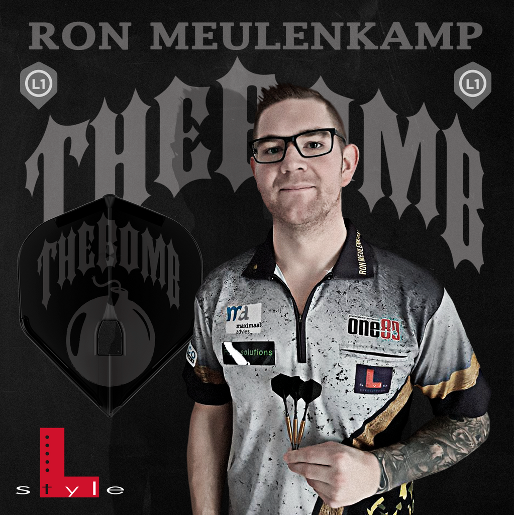 "L-Style - Signature Flights - Ron Meulenkamp ""The Bomb"" - PRO - L1 Standard Shape"