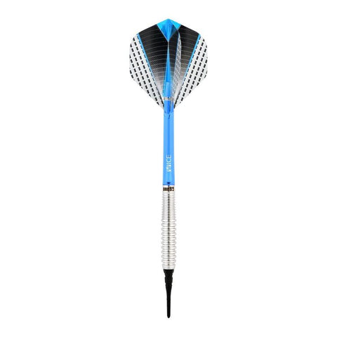 One80 Softdart Strike 04 mit Tropfenform Barrels aus 80% Tungsten Wolfram Softtip