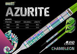 One80 Softdart Chameleon - Azurite - Barrels made of 90% tungsten tungsten soft tip