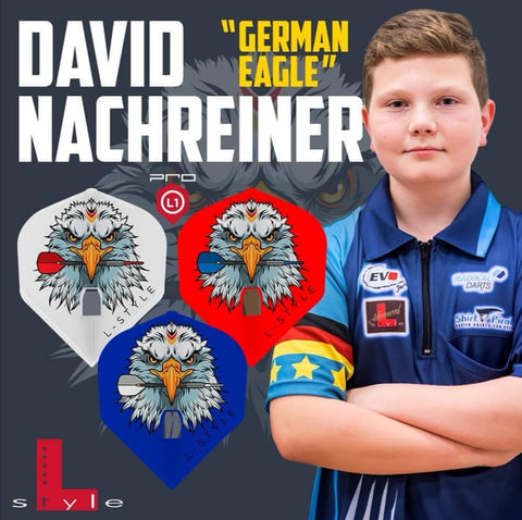 "L -Style - Signature Flights - David Nachreiner ""German Eagle"" - PRO - L1 Standard Shape"