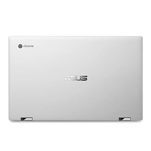 "Asus Chromebook Flip C434TA-DSM4T 2-in-1 Laptop 14"" Touchscreen Full HD 4-Way NanoEdge, Intel Core M3-8100Y Processor, 4GB RAM, 64GB eMMC Storage, Chrome OS"