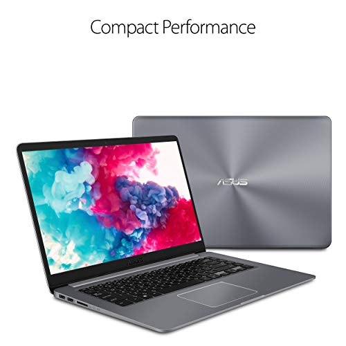 "ASUS VivoBook F510QA Thin & Lightweight Laptop, 15.6"" FHD WideView, AMD Quad Core A12-9720P Processor, 8GB RAM, 256G SSD, Fingerprint Reader, Windows 10 in S Mode, F510QA-DS99"