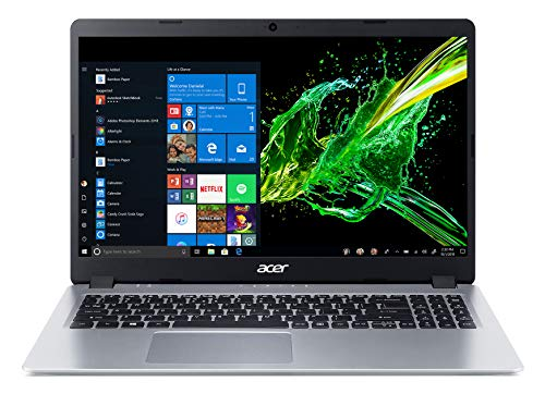 "Acer Aspire 5 Slim Laptop, 15.6"" Full HD IPS Display, AMD Ryzen 3 3200U, Vega 3 Graphics, 4GB DDR4, 128GB SSD, Backlit Keyboard, Windows 10 in S Mode, A515-43-R19L"