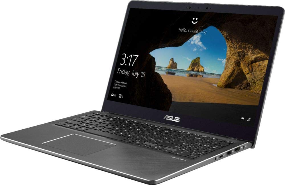 "ASUS - 2-in-1 15.6"" Touch-Screen Laptop - Intel Core i7 - 16GB Memory - 2TB Hard Drive - Gun Metal Gray"
