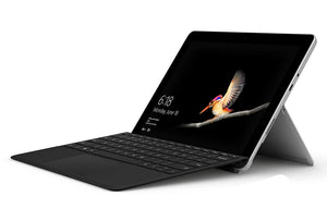 "Microsoft Surface Go with Type Cover Bundle 10"" Touchscreen PixelSense Intel Pentium Gold 4415Y 128GB SSD Windows 10"