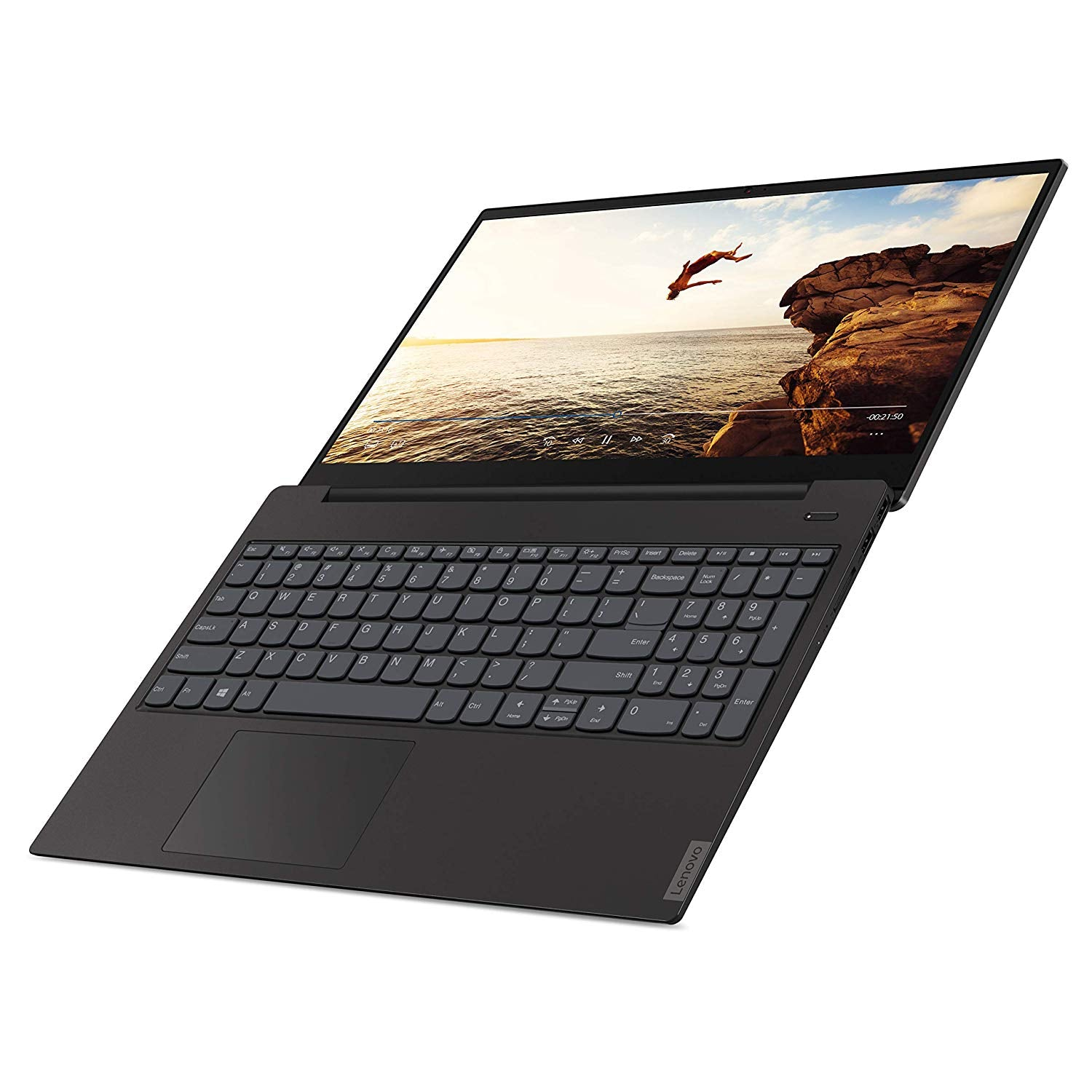 "Lenovo IdeaPad S340 15.6"" Laptop - Intel Core i3 (up to 3.90 GHz) - 8GB DDR4 Memory - 128GB NVMe SSD - USB Type-C - SD Reader - Backlit Keyboard - 720p Webcam - 1366x768 - Grey"