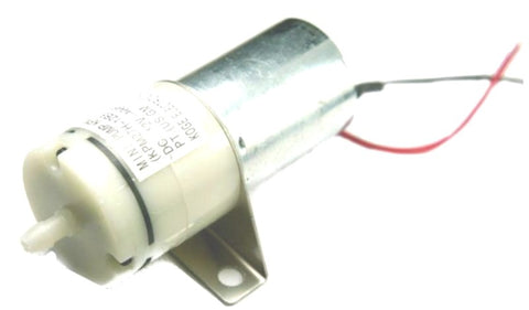 This is a small DC air pump which works on12V, it is primarily used in aquariums and blood pressure machines.