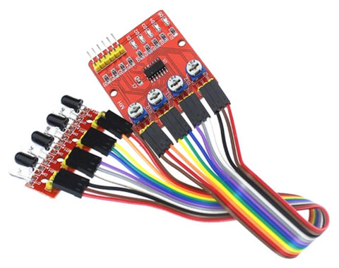 Infrared Tracking Module is a sensor that is used to measure infrared light radiating from an object.