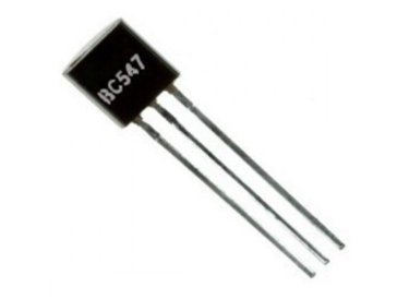 BC547 Transistor for amplification of current