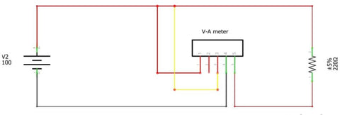 Digital Volt Meter AMP Meter DC 10A 0-100V is capable to perform two function at once.