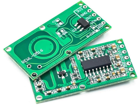Rcwl-0516 microwave radar sensor module human body induction switch module intelligent sensor.