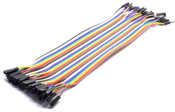 Good Quality Jumper Wire Set of 40 Female-to-Female Connectors
