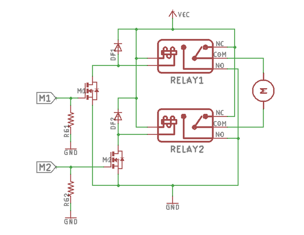 Using SPDT relay to drive the latching solenoid valve