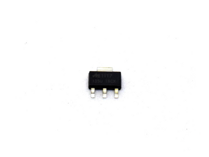 This is a AMS1117 ADJ - 1.5-12V 1A Adjustable Low Dropout LDO Voltage Regulator 3 Pin SOT-223. Buy this AMS1117 ADJ - 1.5-12V 1A Adjustable Low Dropout LDO Voltage Regulator 3 Pin SOT-223 at HNHCart.com