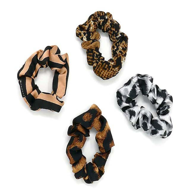 Safari Collection Mini Scrunchie Set