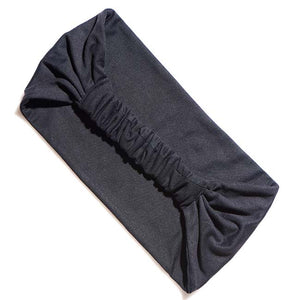 BelleSPORT Wide Headwrap - Black