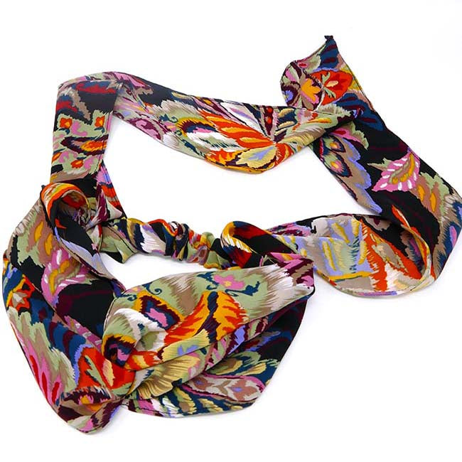 Ibiza Collection Scarf Tie Headwrap