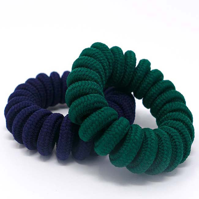 Bermuda Collection Large Nylon Coil Hair Ties