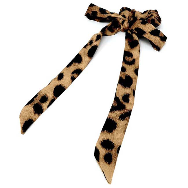 Safari Collection Leopard Hair Scarf