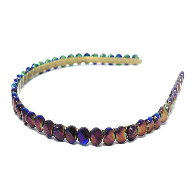 Ibiza Collection Metallic Stone Headband