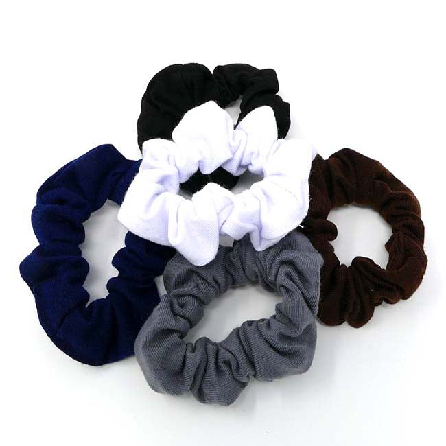 Bellebasics Mini Interlock Scrunchie Set