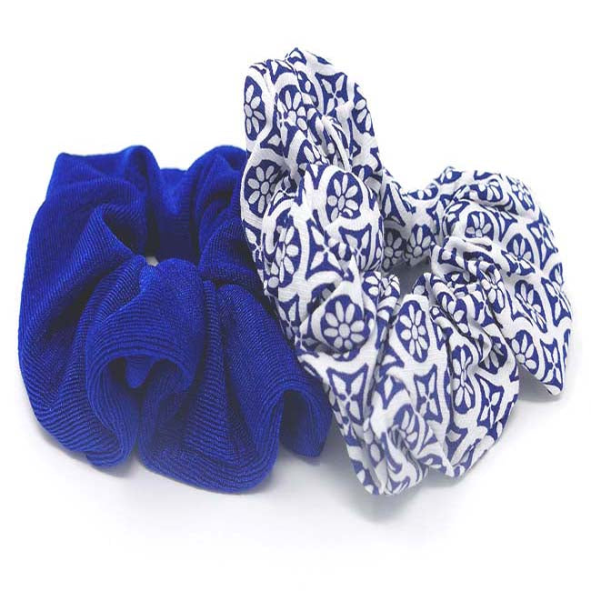 Capri Collection Scrunchie Set