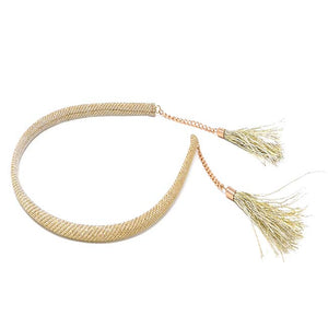 Las Vegas Collection Gold Tassel Headband