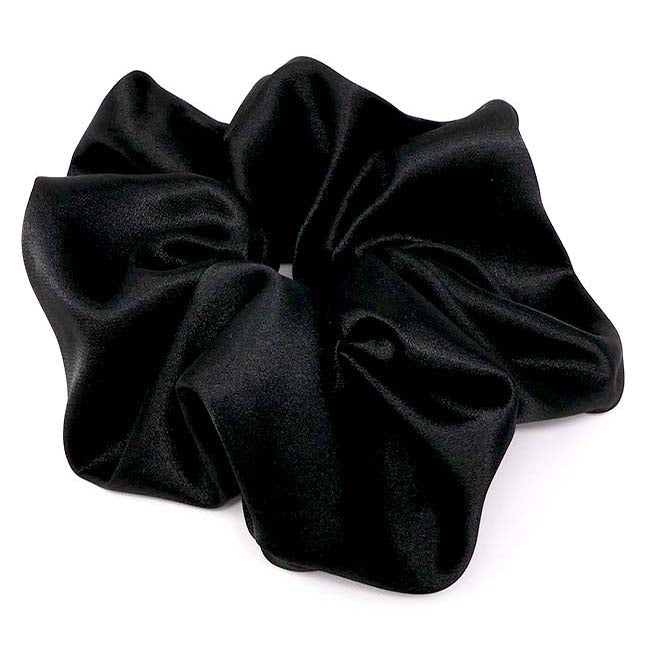Martini Collection X-Large Satin Scrunchie
