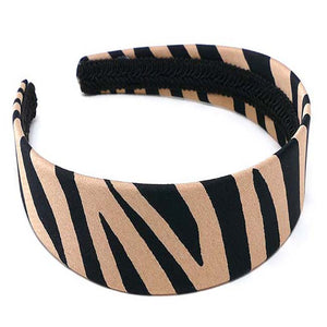 "Safari Collection Zebra 1"" Headband"