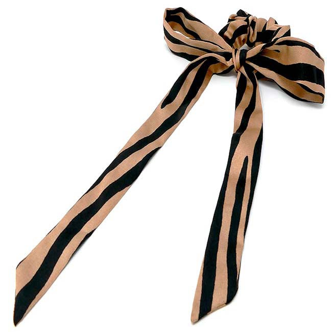 Safari Collection Zebra Hair Scarf