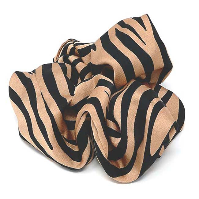 Safari Collection Zebra X-Large Scrunchie