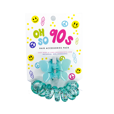 Limited Edition Oh So 90s Hair Accessories Pack