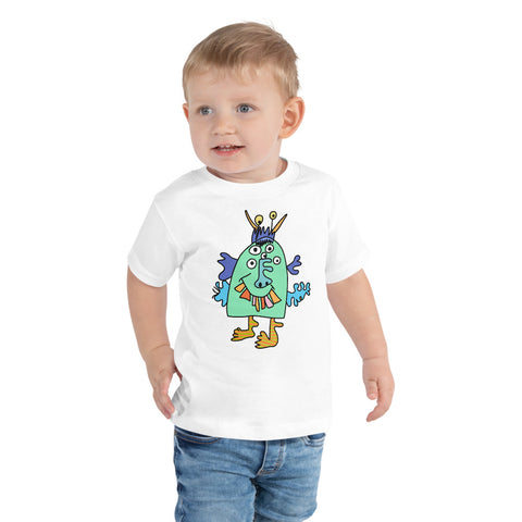 Barnie the Monster by Grace - Toddler Tee