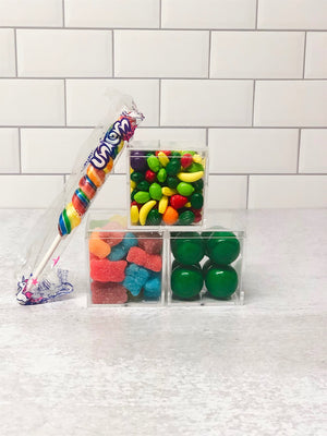 3 Small Square Candy Tower