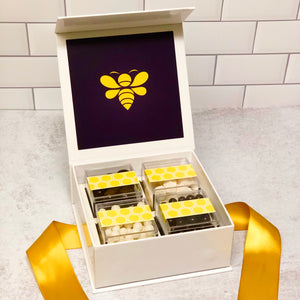 Modern Bee Custom Candy Box