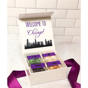 Welcome to Chicago Custom Candy Box