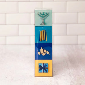 Boxed Set of 4 Chanukah Icons