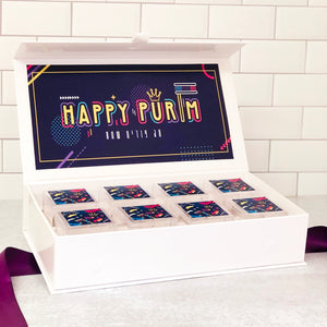 Purim Custom Candy Box of 8