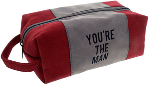 You're The Man Canvas Pouch