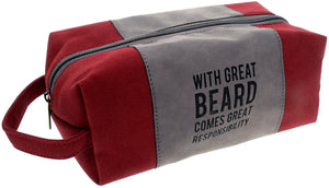 Great Beard Canvas Pouch