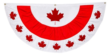Canadian Maple Leaf Bunting