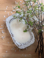 Load image into Gallery viewer, Flicker Soy Candle 3 Wick Dough Bowl - Shipping Only!