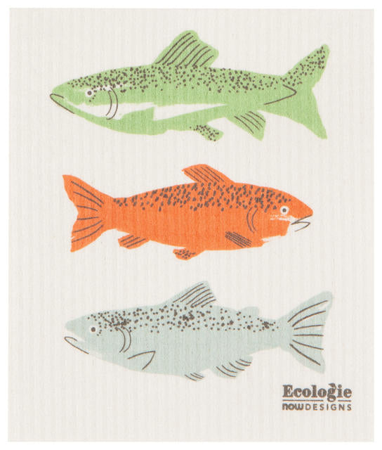 Fish Swedish Dishcloth