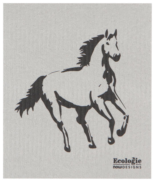 Horse Swedish Dishcloth