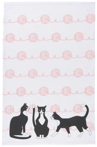 The Great Catsby Tea Towel