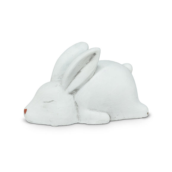 Laying Bunny Figure