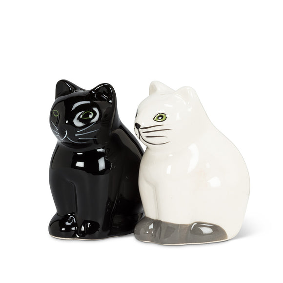 Feline Salt & Pepper